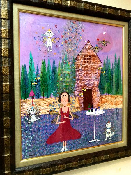 仙台三越アートギャラリー 夢の世界~村岡顕美 絵画展